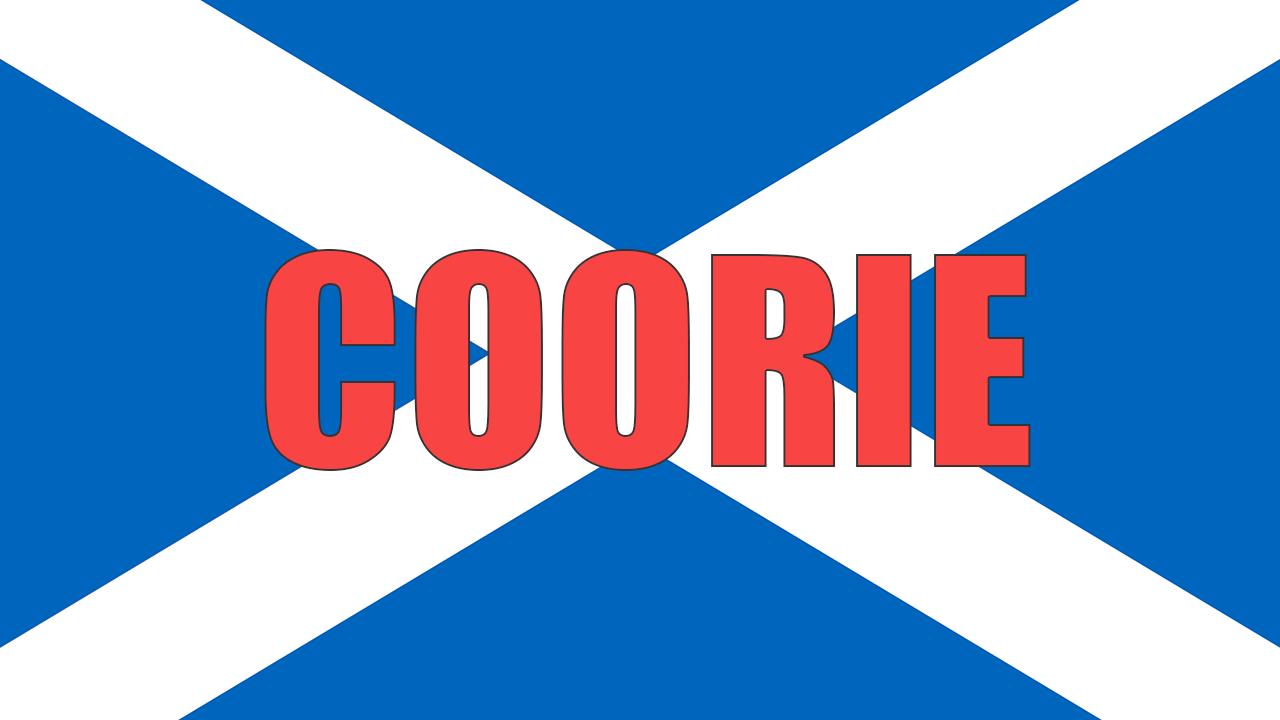 Coorie